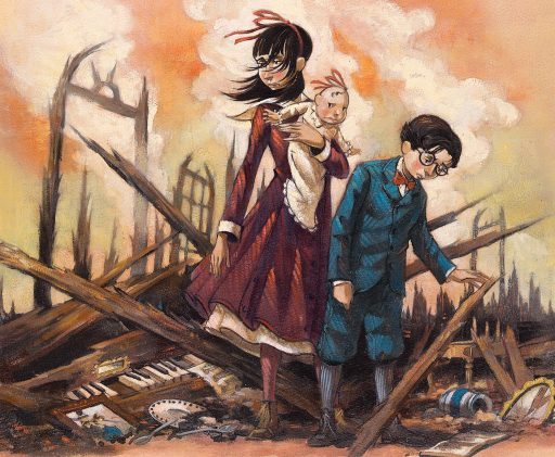 Ten Random Facts: Series of Unfortunate Events